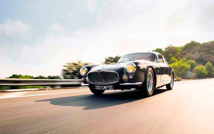 Driving the barn-find 1956 Maserati A6G 2000 Gran Sport Frua
