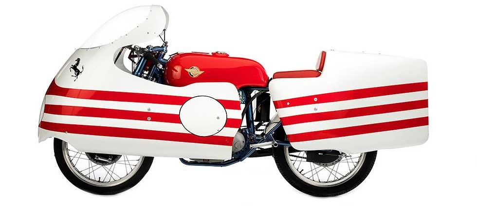 1956 Ducati race moto