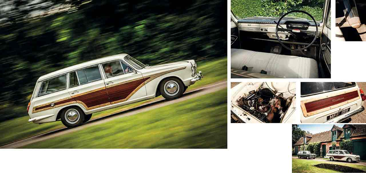 Ford Consul Cortina Super road test