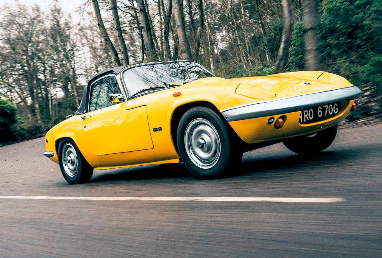 1969 Lotus Elan S4 road test