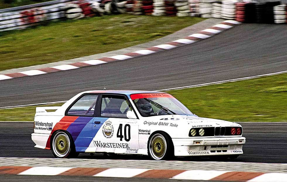 Nürburgring in 1987, earning that respect.