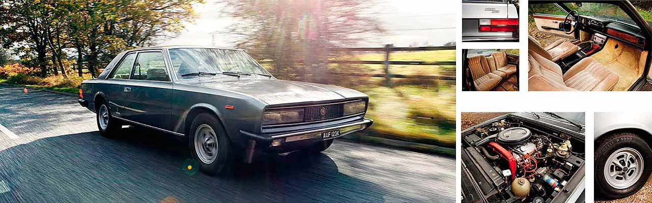 Fiat 130 Coupe road test