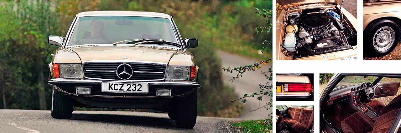 Mercedes-Benz 450SLC C107 road test