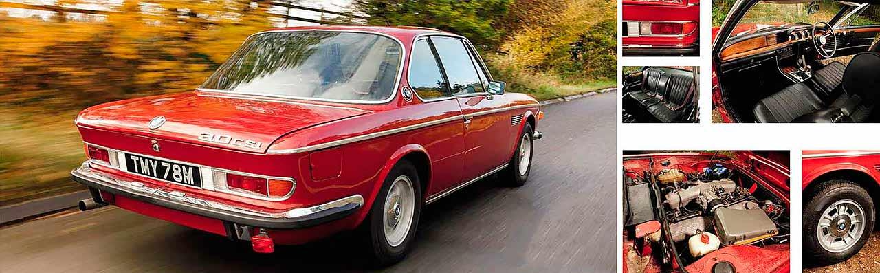 BMW 3.0 CSi E9 road test