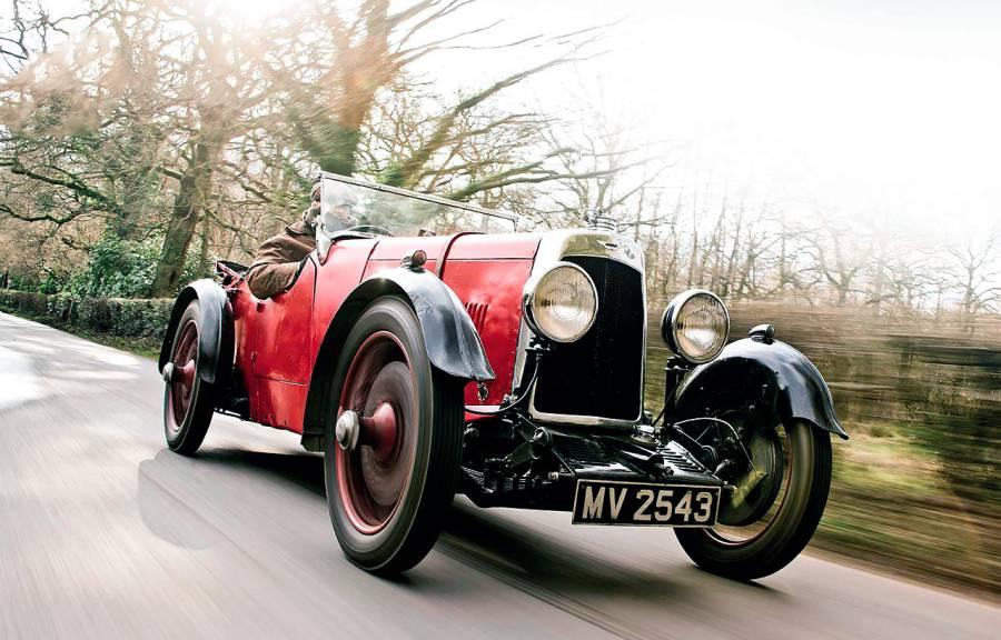 1932 Aston Martin New International road test