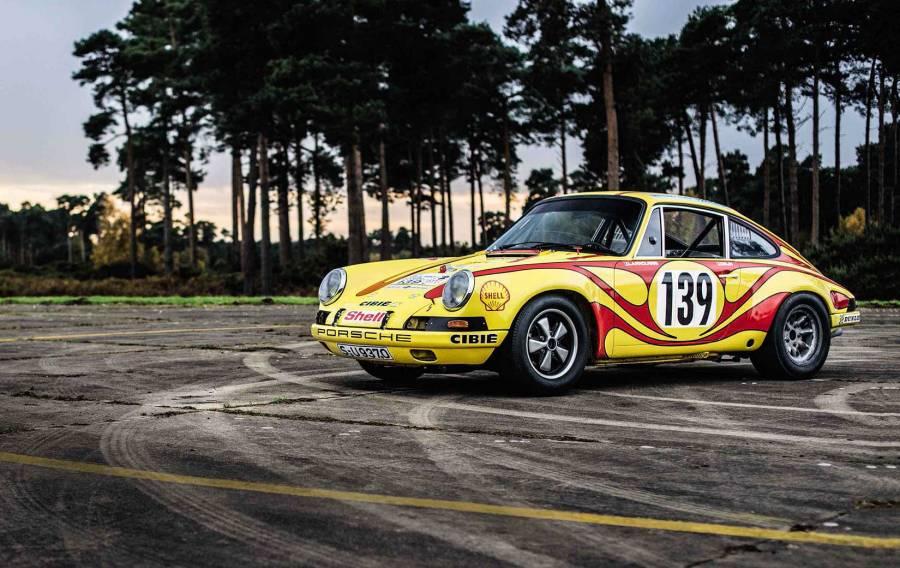 1970 Porsche 911ST Gerard Larrousse road test