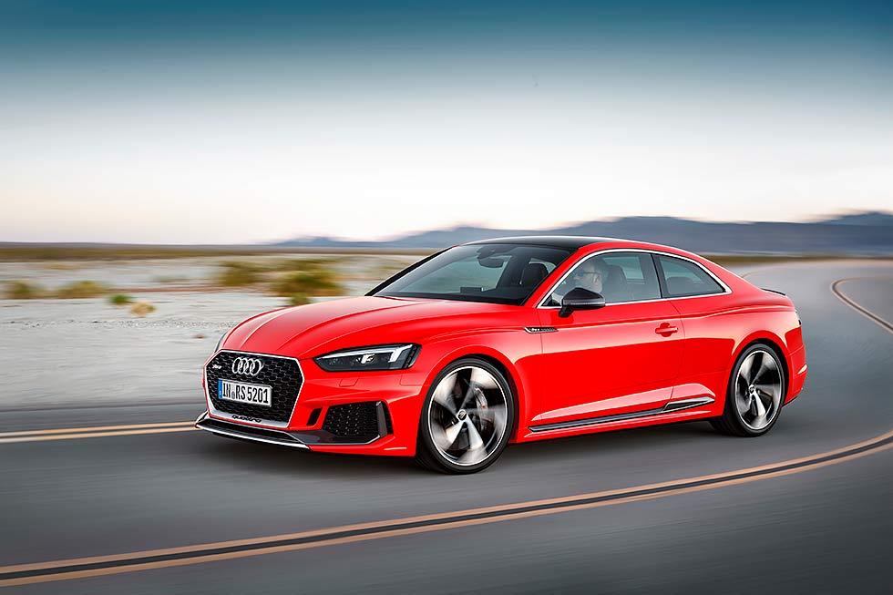 All new Audi RS5 F5