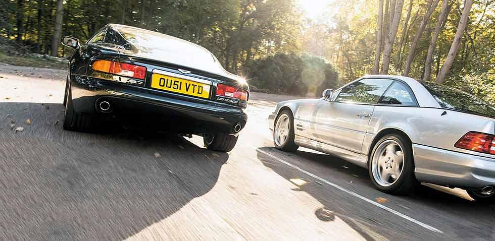 1999 Aston Martin DB7 Vantage road test