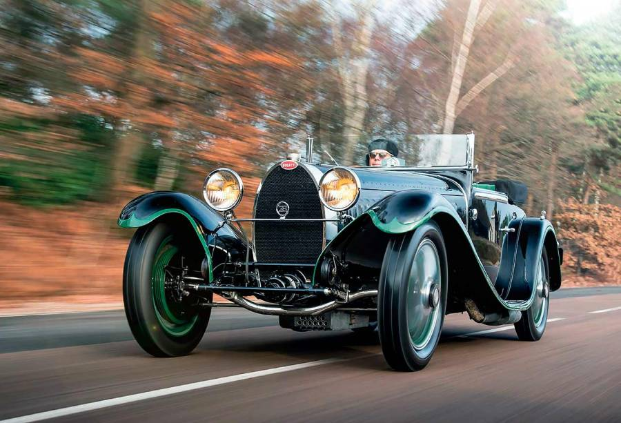 Bugatti Type 55 road test