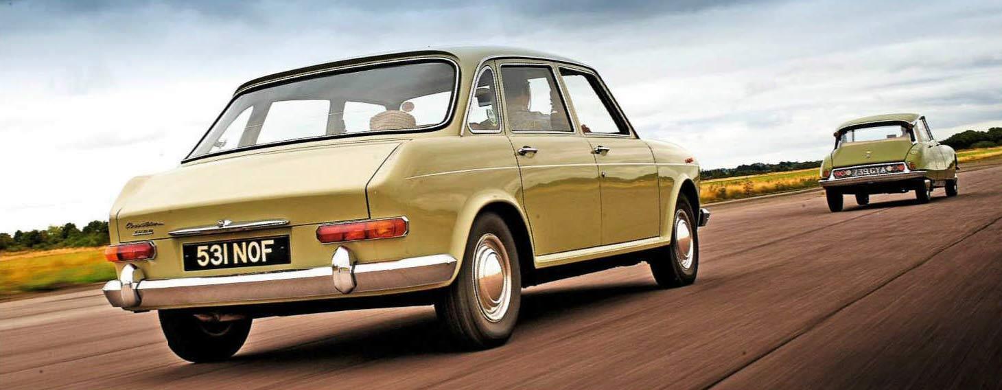 Test Drive Citroën ID19 vs. Austin 1800 Landcrab