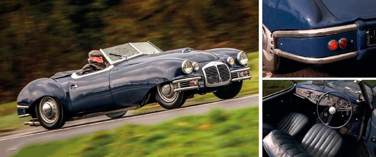 1950 Frazer Nash 'Foursome' Cabriolet