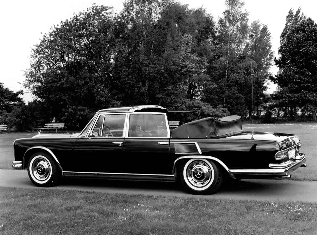 1967 Mercedes-Benz 600 W100 short-wheelbase Laundalet