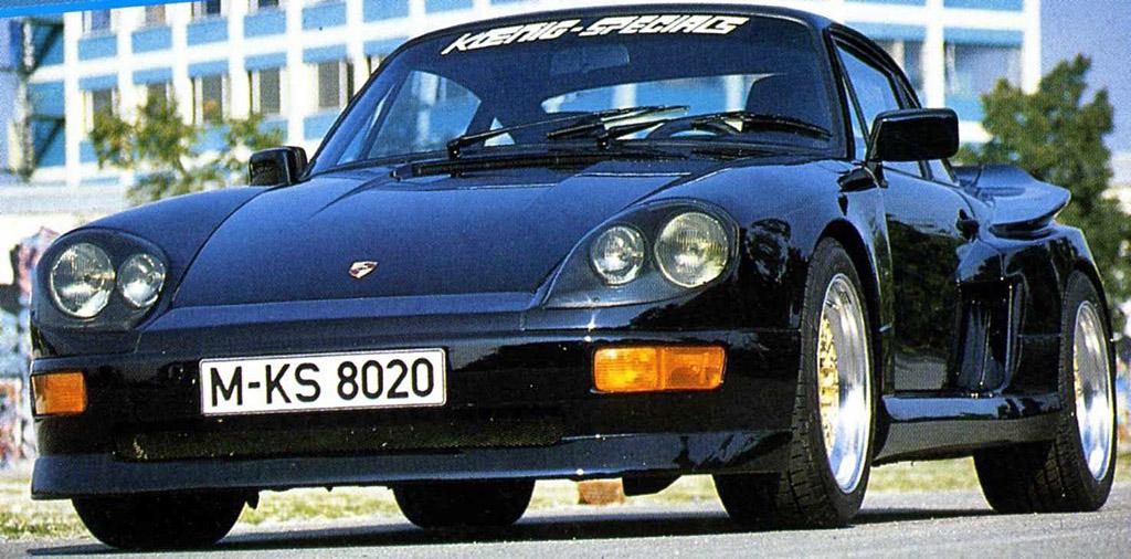 1984 Koenig Specials 911 Carrera 24 Kompressor