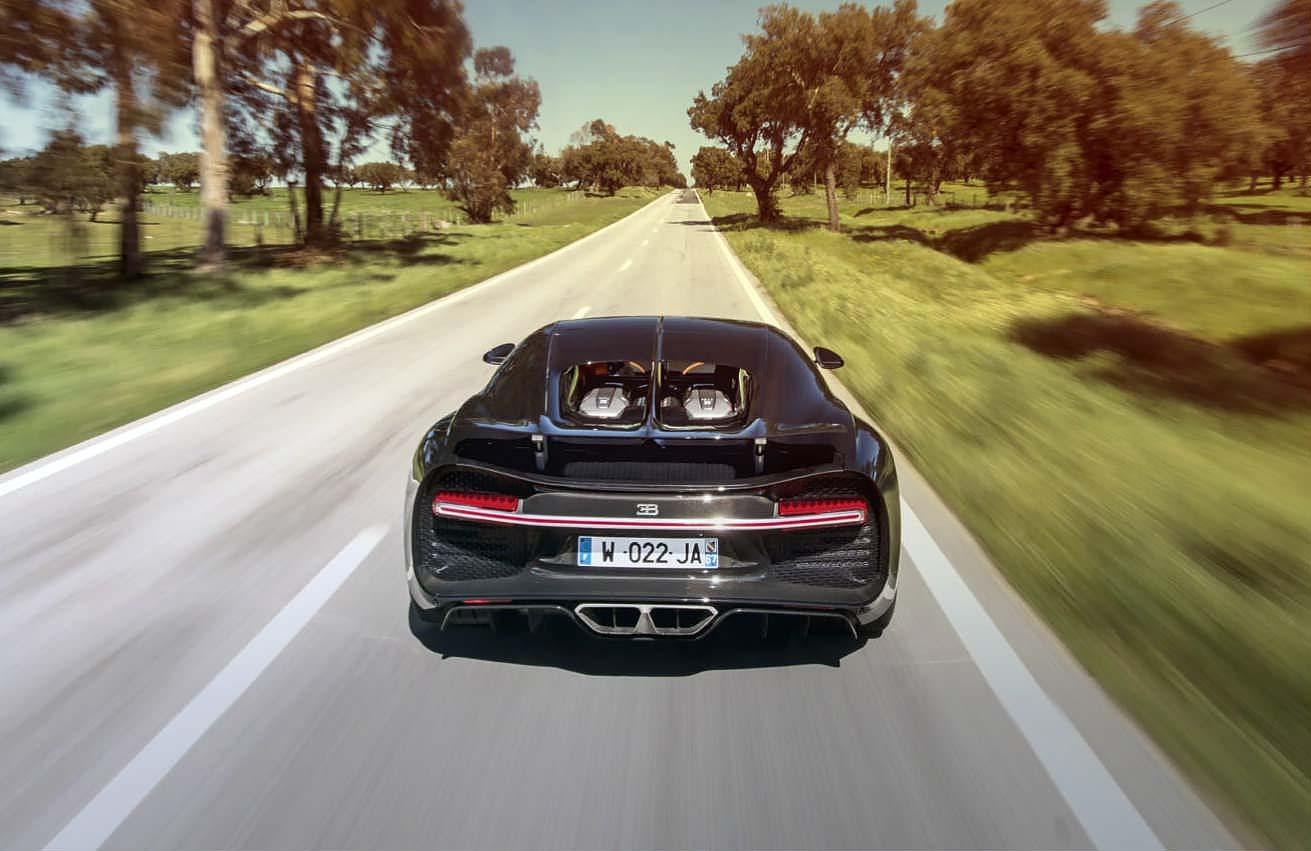 2017 Bugatti Chiron road test