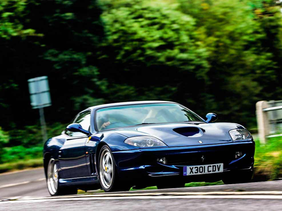 Ferrari 550 Maranello 479bhp GT road test