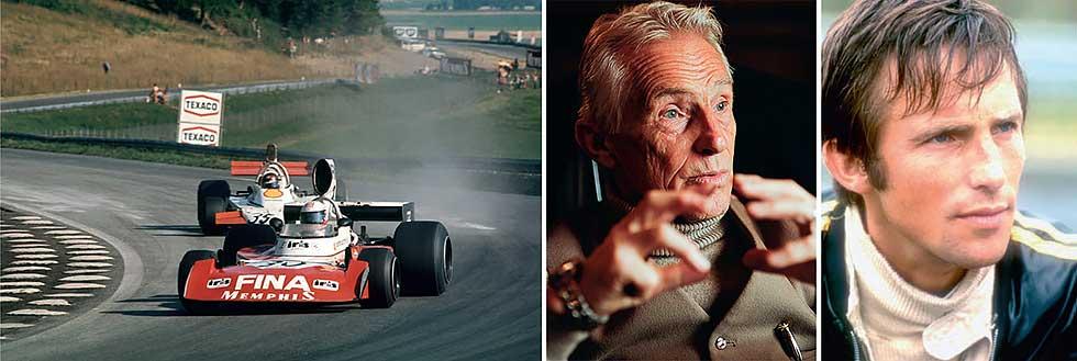 Racer Ian Ashley