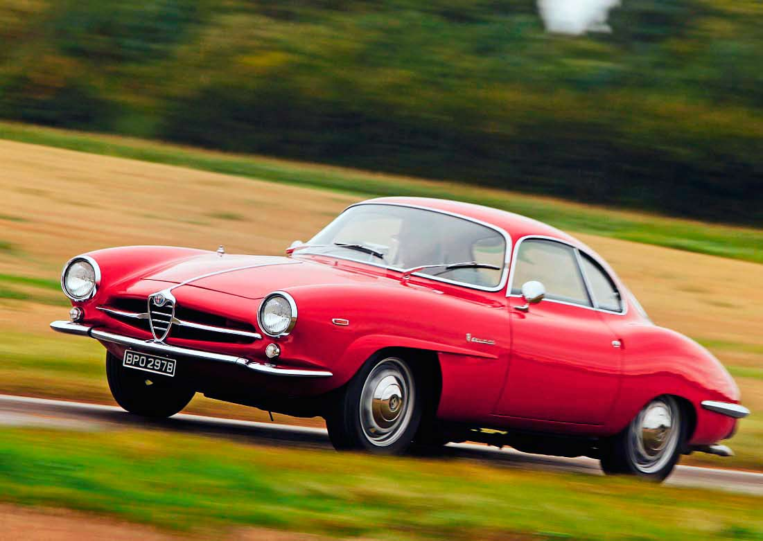 Alfa-Romeo Giulia SS road test