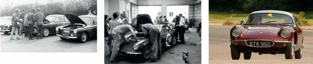 Climax-powered GT 1958 Tojeiro Climax Coupe