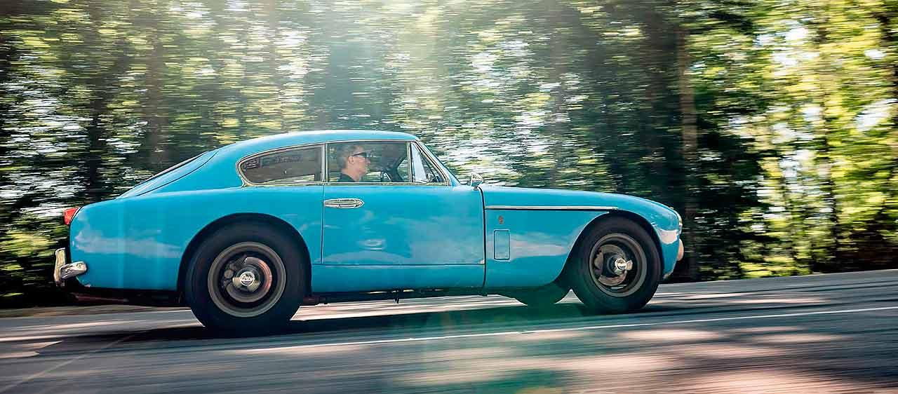 1956 Aston-Martin DB Mark-III road test