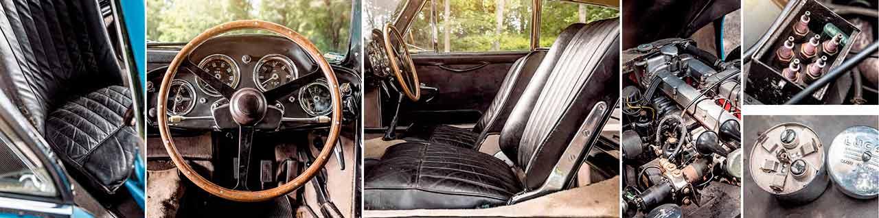 Prototype 1956 Aston Martin DB Mark III driven