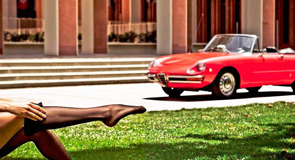 1967 The Graduate Alfa Romeo's Duetto