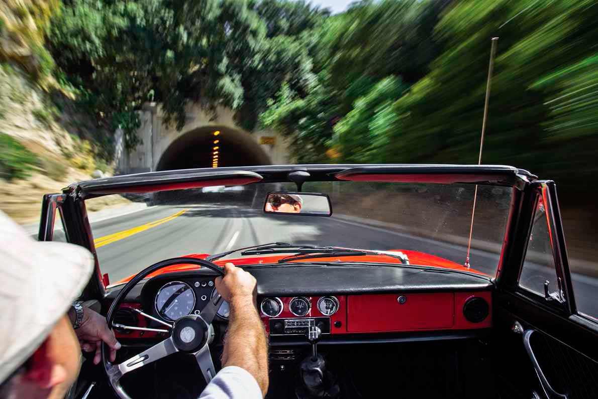 1967 The Graduate Alfa Romeo Duetto