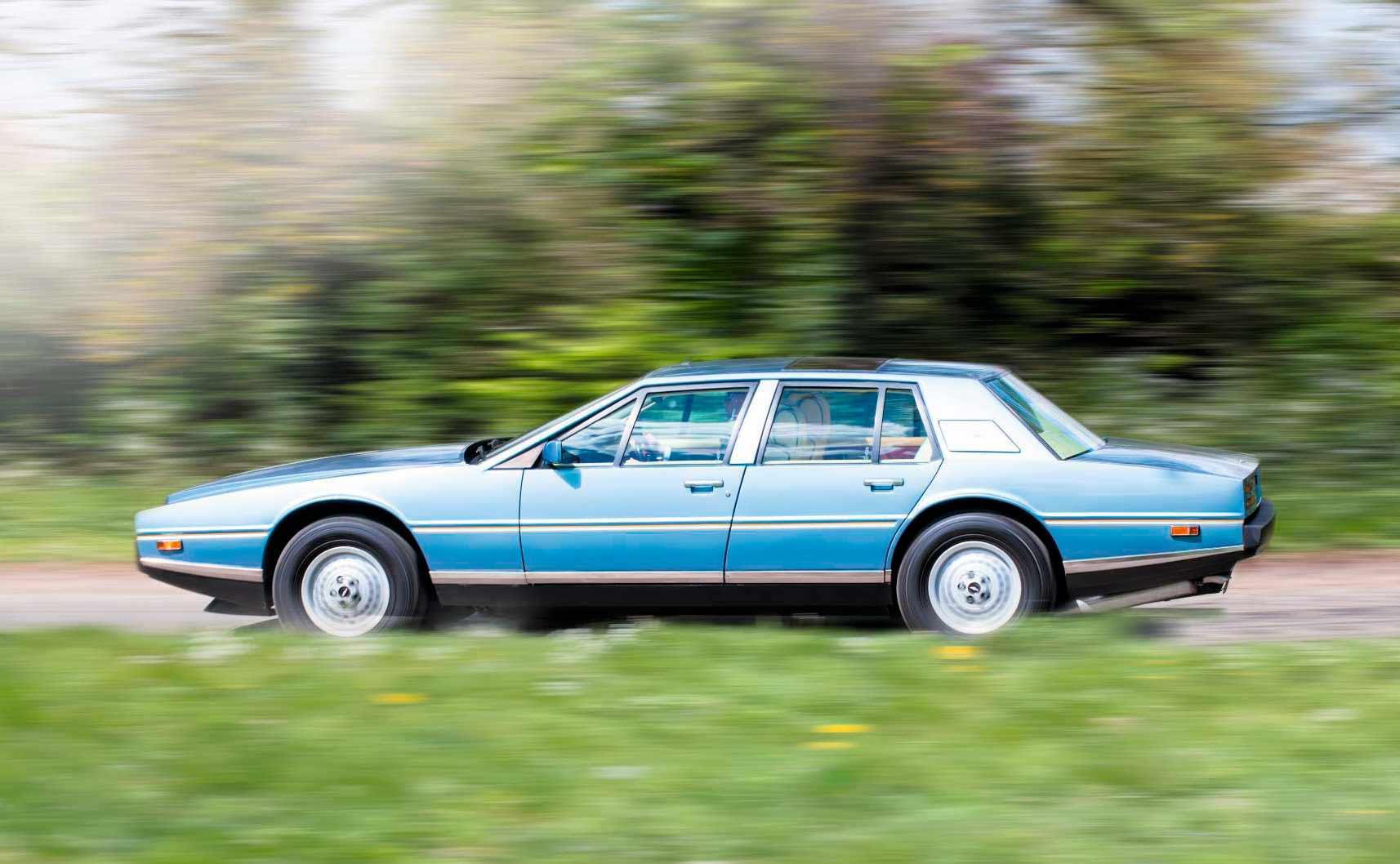 1984 Aston-Martin Lagonda road test