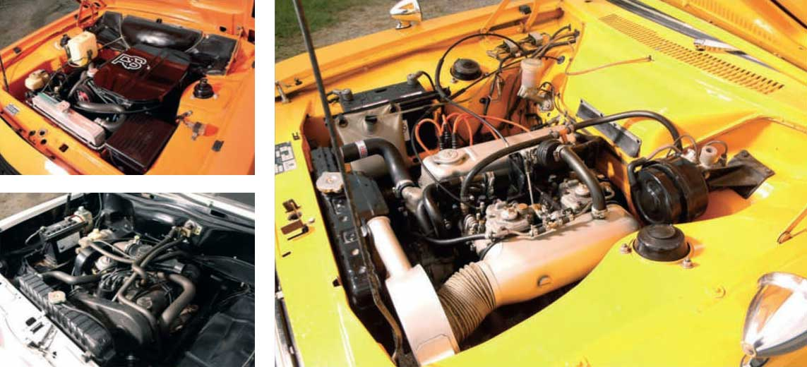 Hillman Avenger Tiger vs. Vauxhall HP Firenza and Ford Escort RS2000 Mk2
