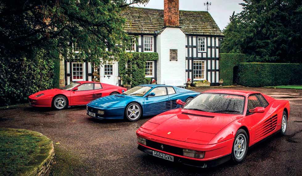 Testarossa generations - Ferrari Testarossa, 512TR and F512M