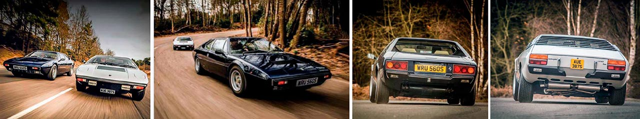 Ferrari 308GT4 vs. Lamborghini Urraco P300