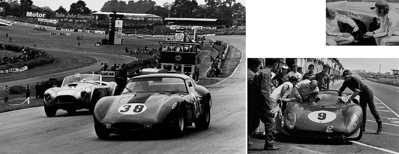 David Piper pipes up - the British privateer who has been racing Ferraris for five decades