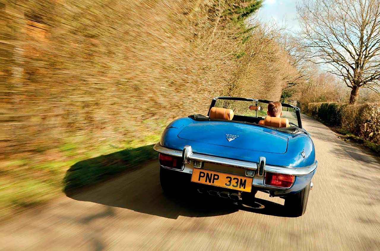 Jaguar E-type V12 road test