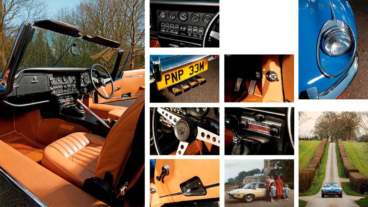 Jaguar E-type V12 interior