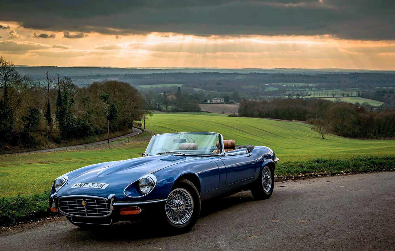 Jaguar E-type V12 styling