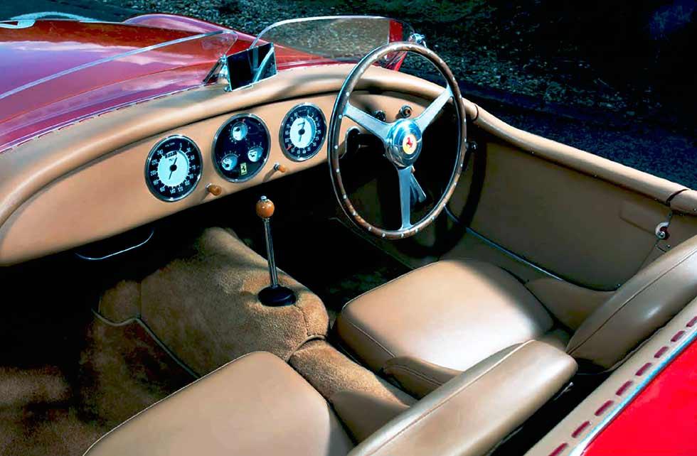 Ferrari 166MM interior