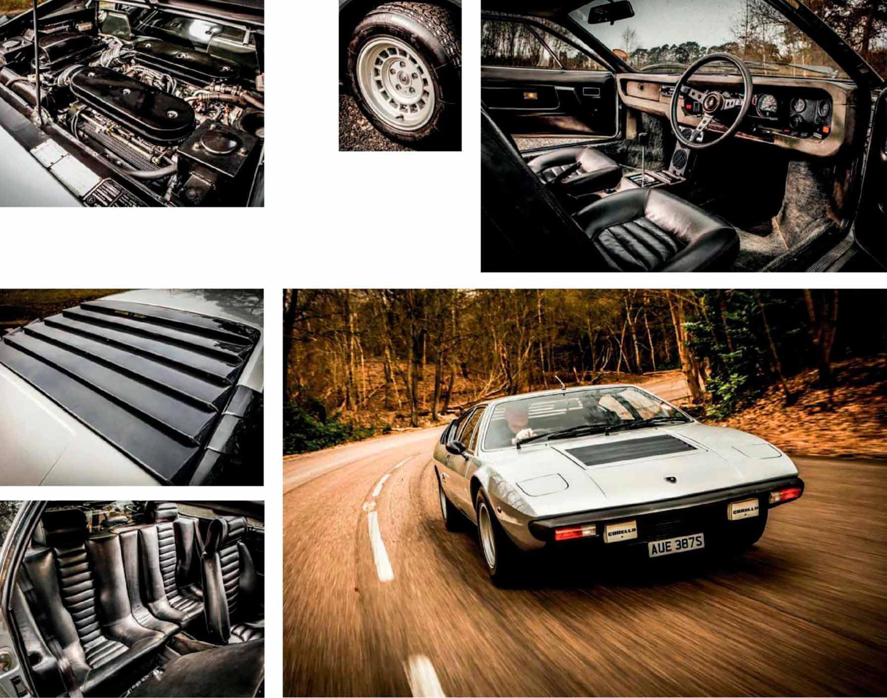 Lamborghini Urraco P300 road test