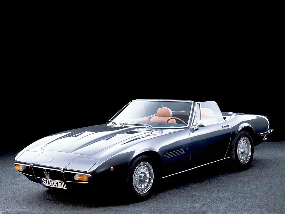 Maserati Ghibli Spyder (AM115S) '1969