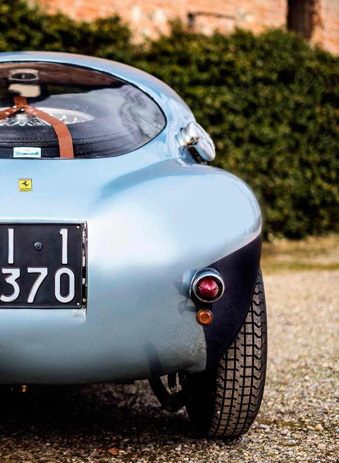 1950 Ferrari 166 MM/212 Export 'Uovo' by Fontana - Marzotto brothers rebodied race car test