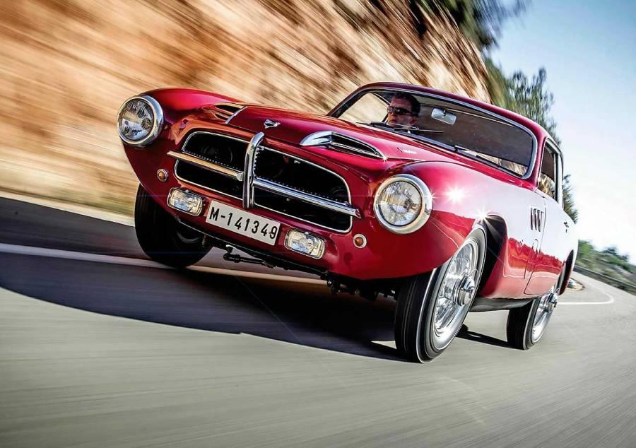1955 Pegaso Z-102 Touring driven