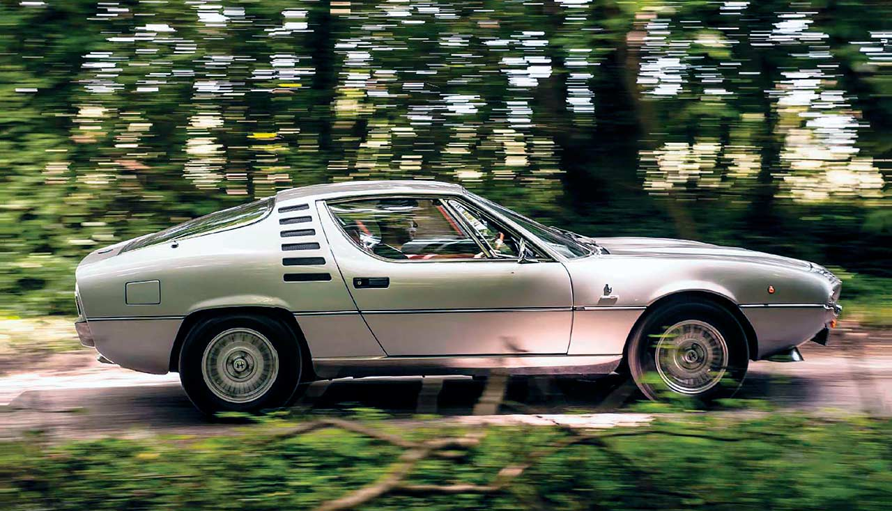 1976 Alfa Romeo Montreal 3.0 V8 road test