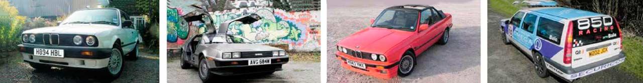 Chris Bale's car cv