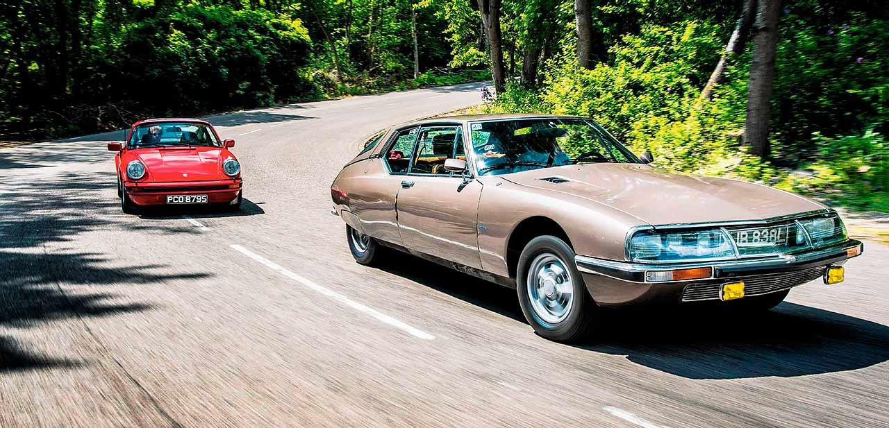 Citroën SM 2.7 IE road test