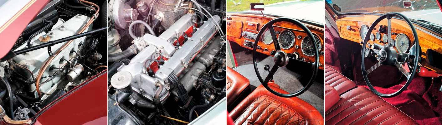 Lagonda 3-Litre MkII vs. Daimler Regency Sportsman