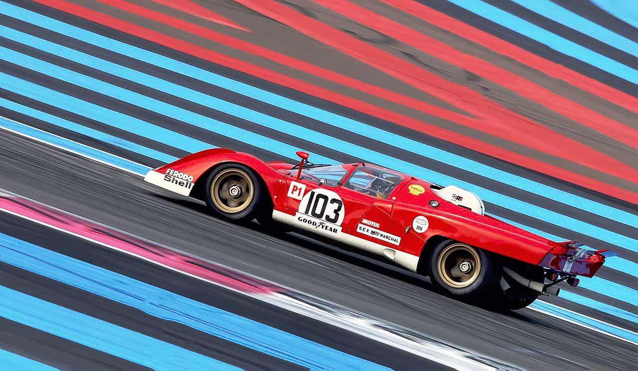 1970 Ferrari 512M track test