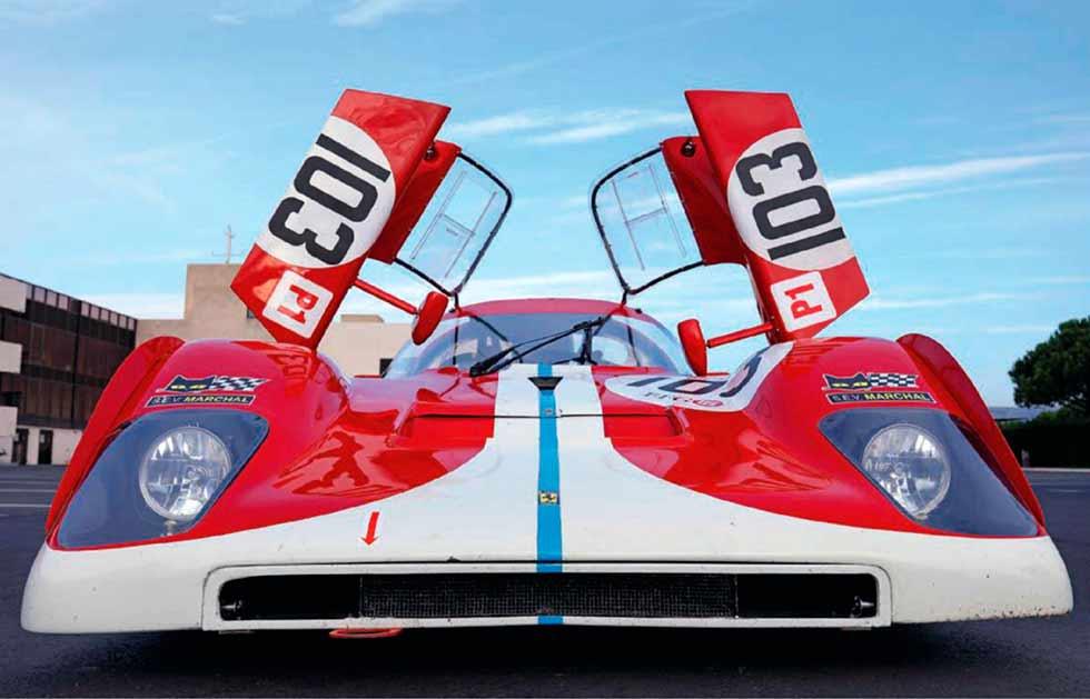Ferrari 512M track-test Group-5 race car