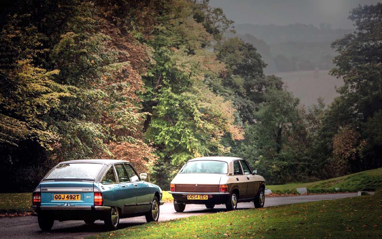 Citroën GS Pallas vs Vanden Plas 1.7