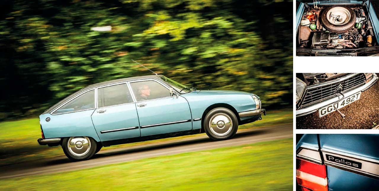 Citroën GS Pallas road test
