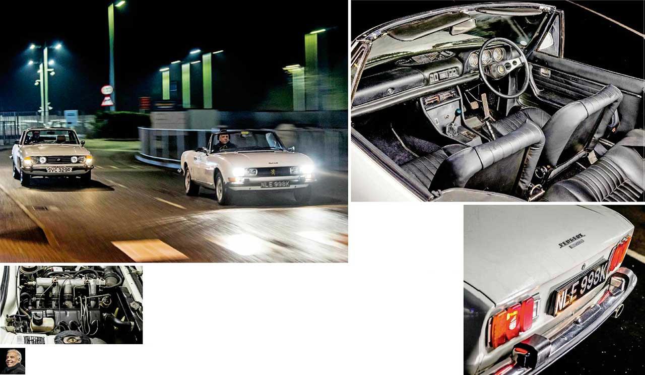 1973 Peugeot 504 2.0 Convertible road