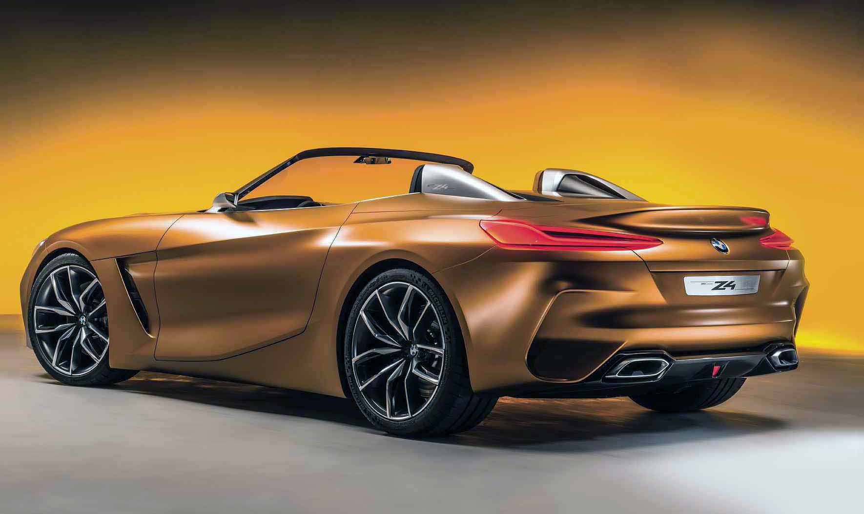 2017 BMW Z4 G29 Concept