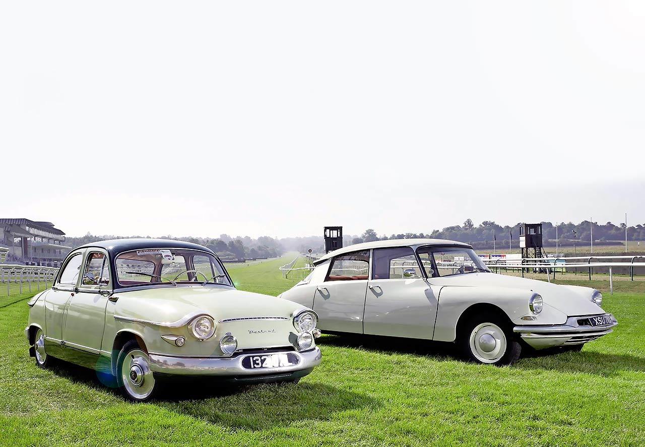 1959 Panhard PL17 vs. 1962 Citroen ID19